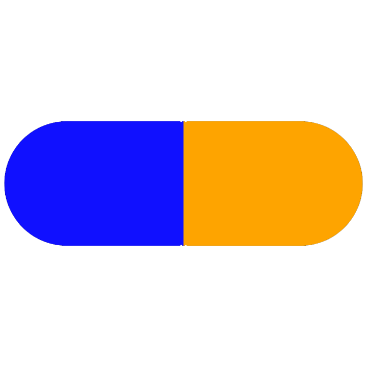Pill Illustration: Fluoxetine 40mg (0093-7198)