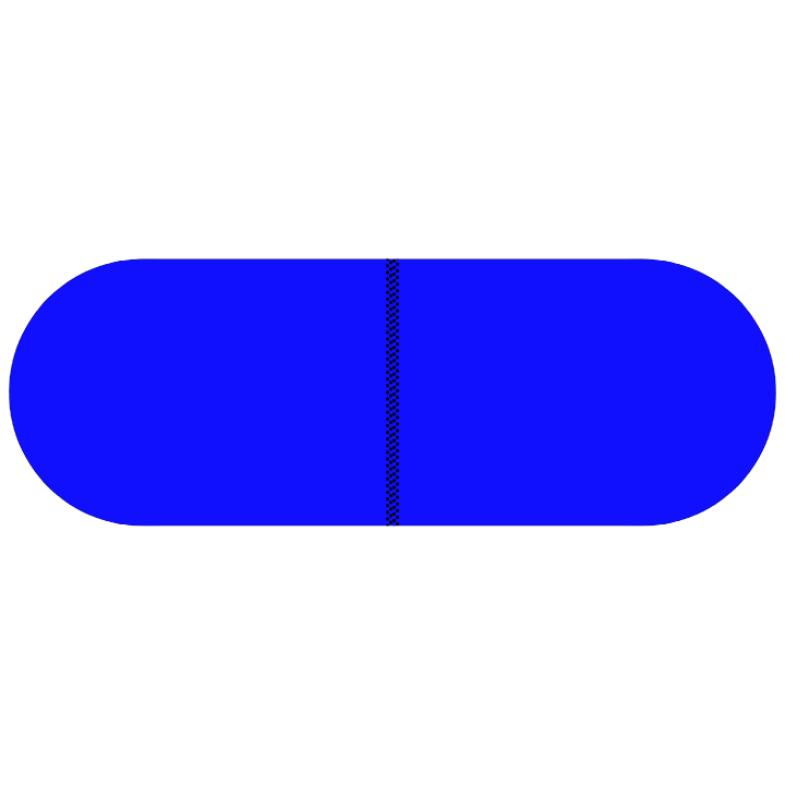 Pill Illustration: Verapamil 240mg (0378-1411)
