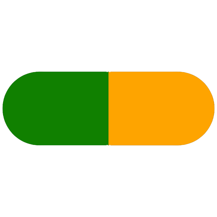 Pill Illustration: Fluoxetine 40mg (65862-194)