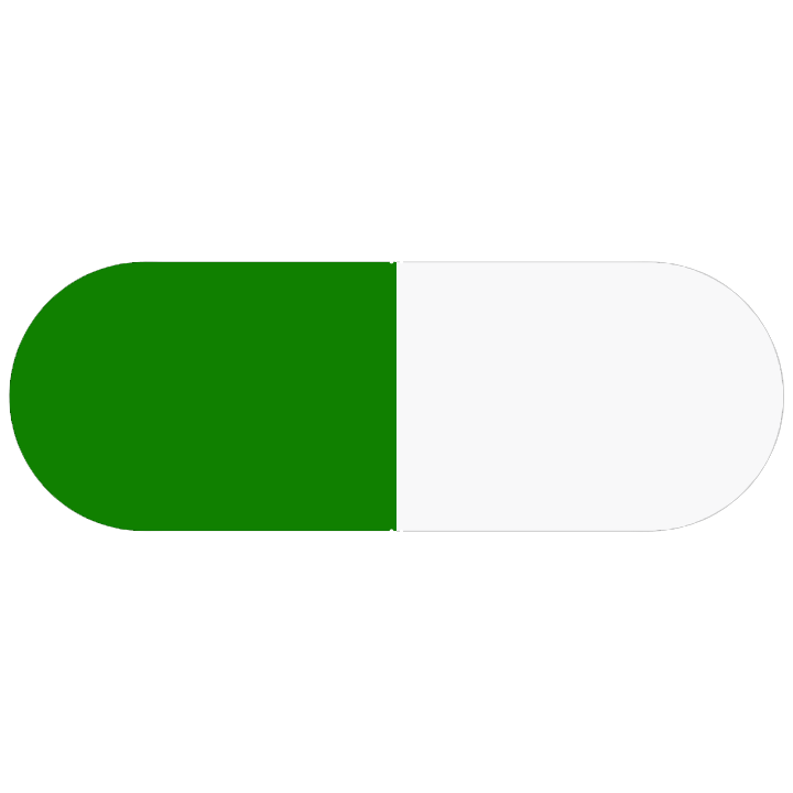 Pill Illustration: Fluoxetine 20mg (10544-065)