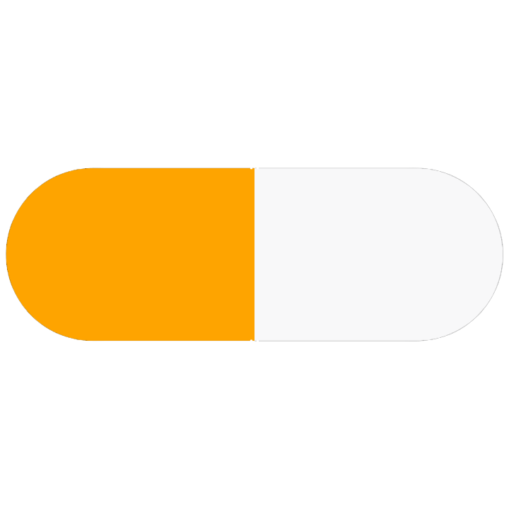 Pill Illustration: Cefadroxil 500mg (0093-3196)