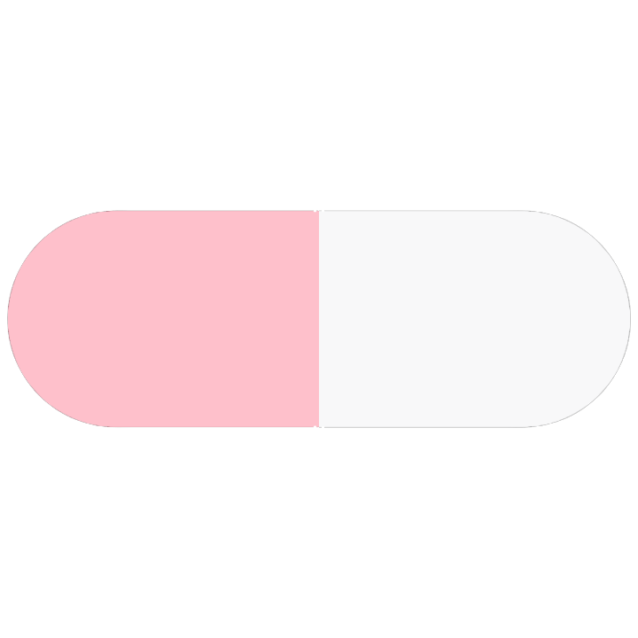 Pill Illustration: Nitrofurantoin 50mg (0115-1643)