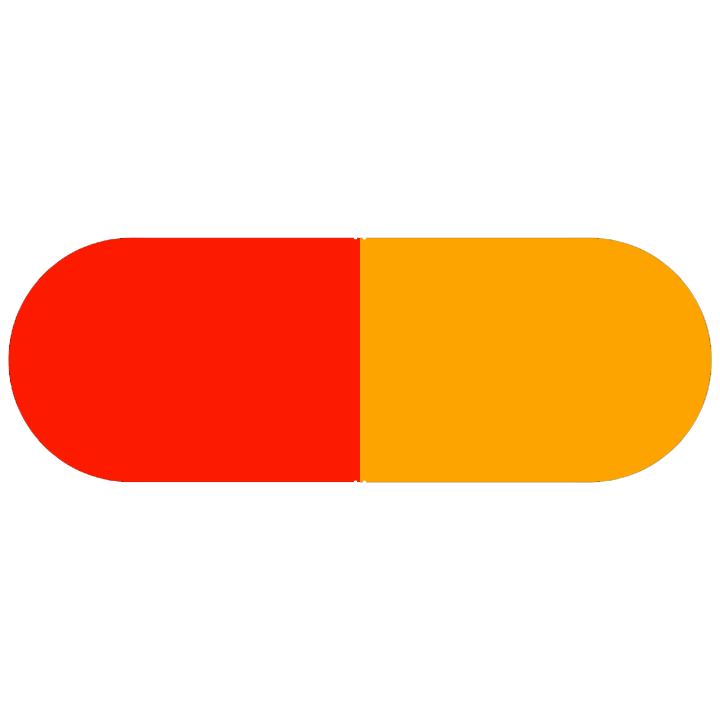 Pill Illustration: Verapamil 200mg (54868-6124)
